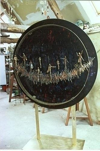 Isabelle Blanchard, stages de sculpture à l'atelier de Plérin : Bronze